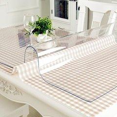 Прозрачная скатерть пленка на стол (140х80см)