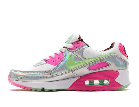 Nike Air Max 90 'White/Pink/Grey'