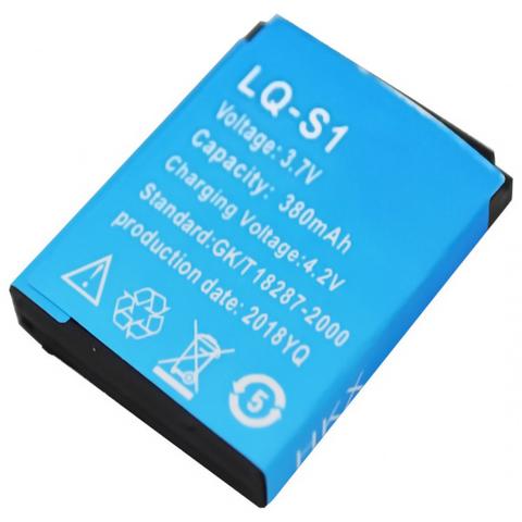 Аккумуляторы к Smart часам LQ-S1 (GK/T 18287-2000), 380mAh, синий