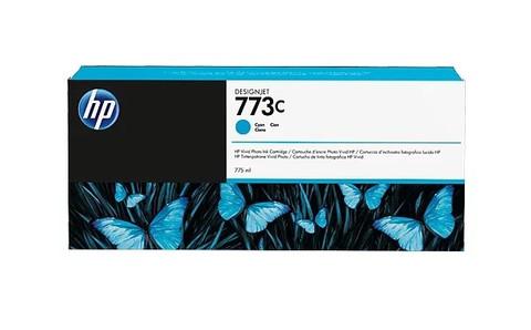 Картридж струйный HP C1Q42A (№773C) голубой