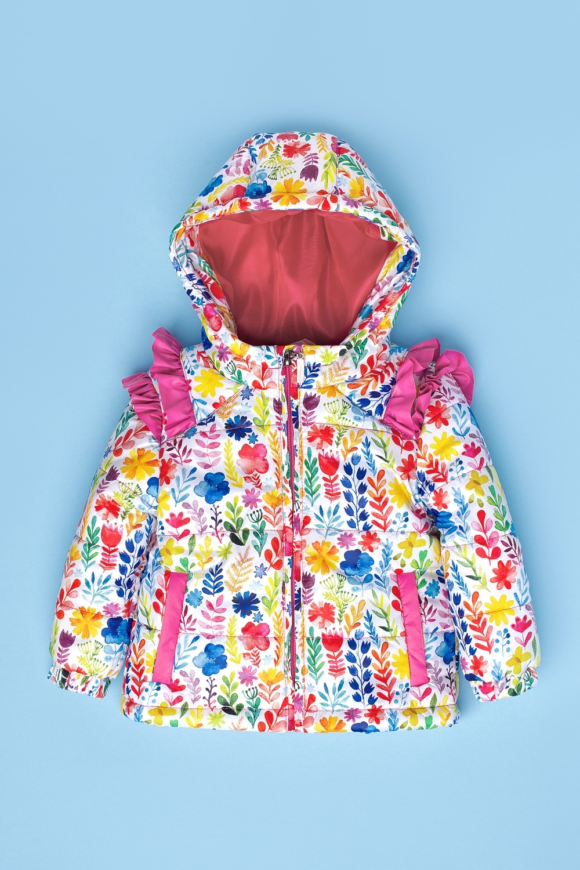 Куртка разноцветная для девочки 48-9001-1