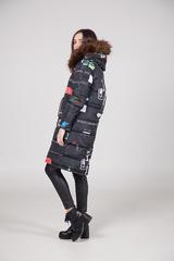 удлиненные куртки женские