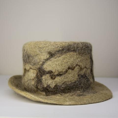 Шляпа с узором