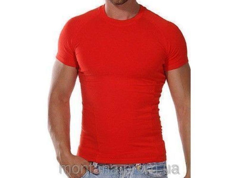 Мужская футболка красная Doreanse 2535