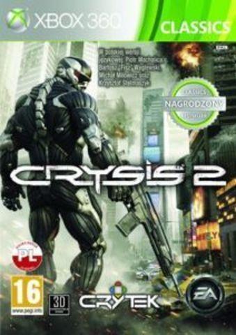 Xbox 360 Crysis 2 (Classics, английская версия)