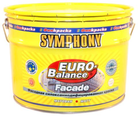 SYMPHONY EURO-Balance Facade Siloxan - силоксаномодифицированная водоразбавляемая краска