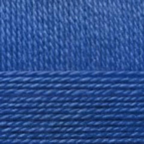 Пряжа Народная (Пехорка) 491 Ультрамарин, фото
