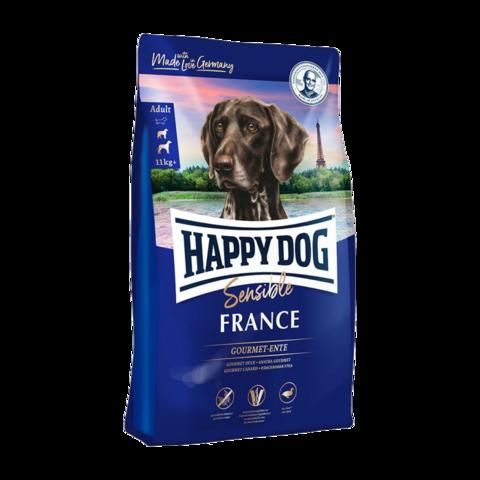 Happy Dog Supreme Adult Sensible France Сухой корм для собак с уткой и картофелем