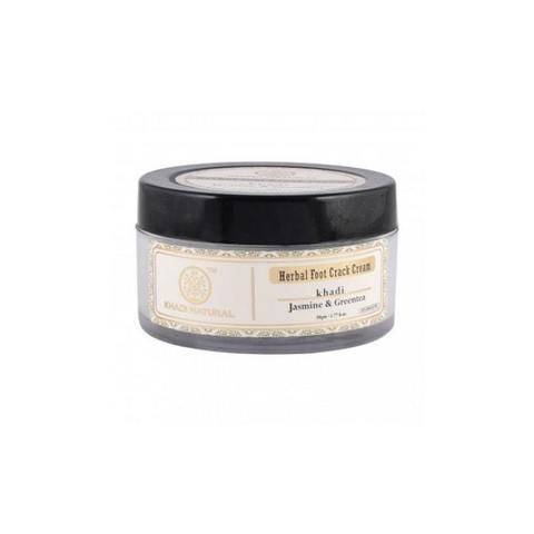 """""""Жасмин и Зеленый чай"""" крем для ног смягчающий Khadi Natural, 50 гр"""
