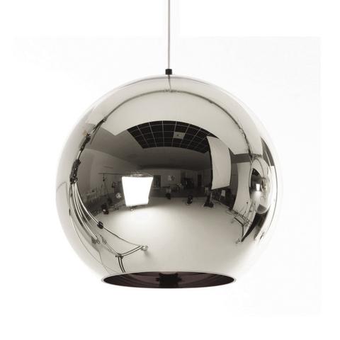 Подвесной светильник копия Copper Shade by Tom Dixon (серебряный)