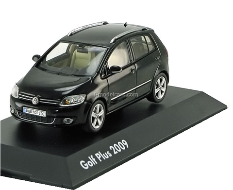 VW Golf Plus 2009 black Schuco 1:43