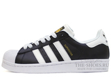 Кроссовки Женские Adidas SuperStar Black White