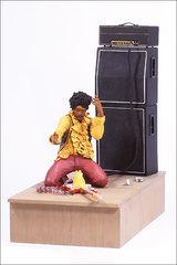 Джими Хендрикс фигурка Рок-фестиваль в Монтерее