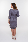 Платье для беременных 05827 серый