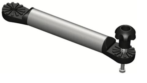 Удлинитель Ex632 на трубу Ø 32 мм, (L = 610 мм), черный