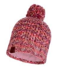 Вязаная шапка с флисовой подкладкой Buff Hat Knitted Polar Margo Flamingo Pink