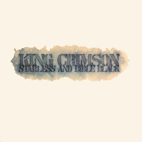 King Crimson ‎/ Starless And Bible Black (LP)