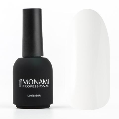Monami Гель-лак №001 (белый), 12 мл