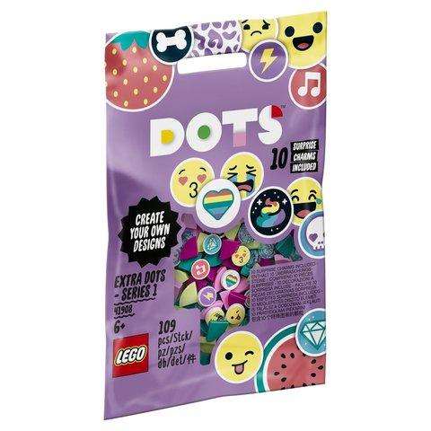 LEGO Dots: Дополнительные элементы DOTS 41908 — Extra Dots - Series 1 — Лего Дотс Точки