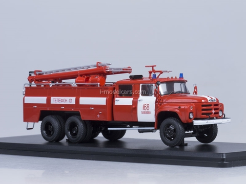 ZIL-133GYa AC-40 fire engine Pavlovsky Start Scale Models (SSM) 1:43