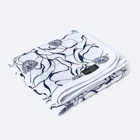 Муслиновое одеяло Mjölk Blossom