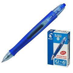 Ручка гелевая автоматическая Pilot BL-G6-5 синяя (толщина линии 0.3 мм)