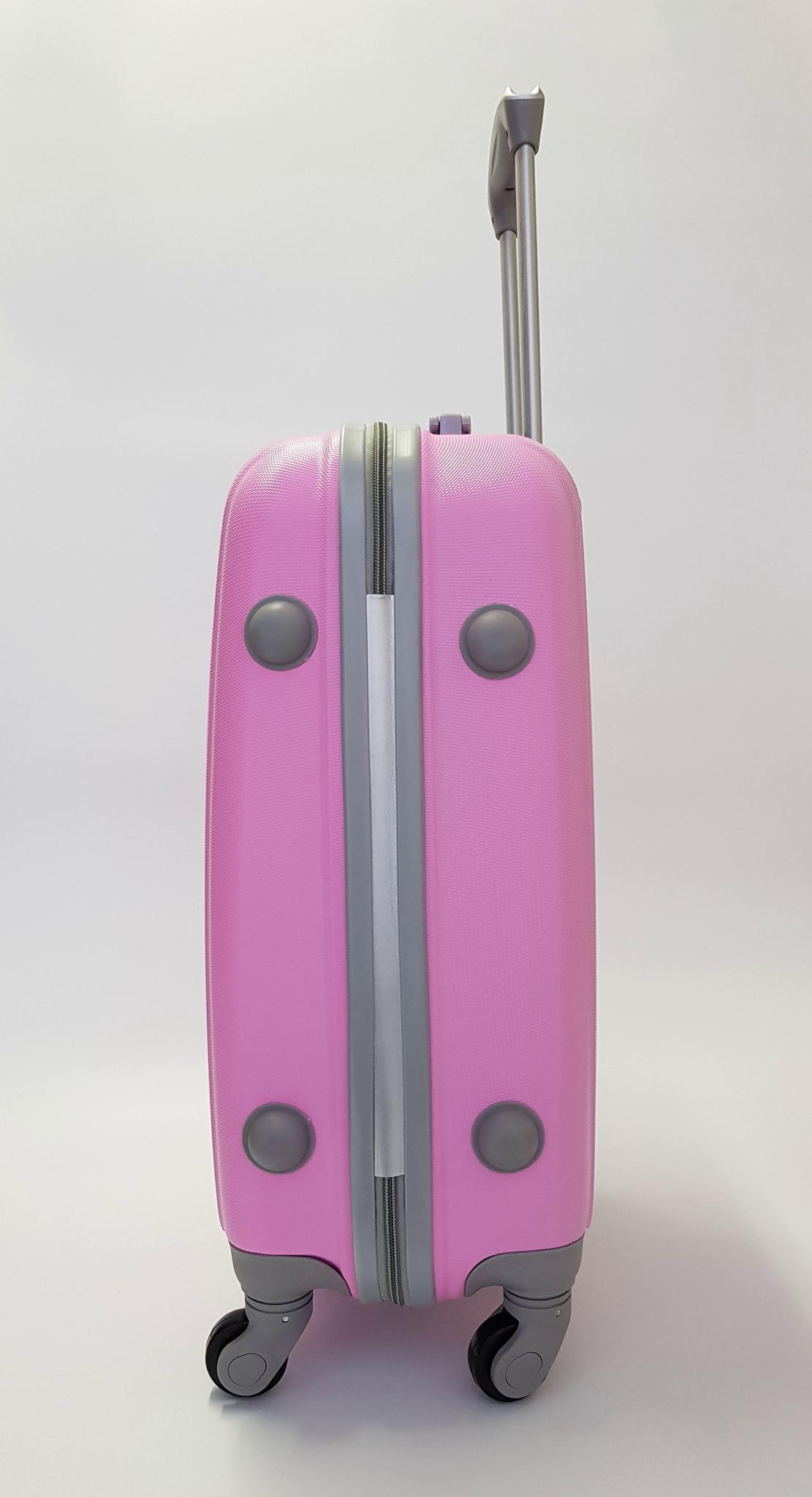 Чемодан Ananda APL-833 Розовый ручная кладь (S)