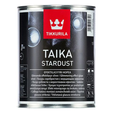 Tikkurila Taika Stardust/Тиккурила Тайка Стардаст лессирующая лазурь с мерцающим эффектом