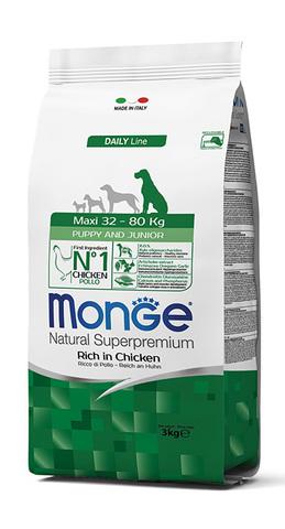 Monge Maxi Puppy & Junior 15 кг