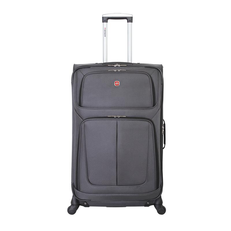Чемодан WENGER SION, цвет серый, 46x29x80 см, 90 л (WGR6283424181).