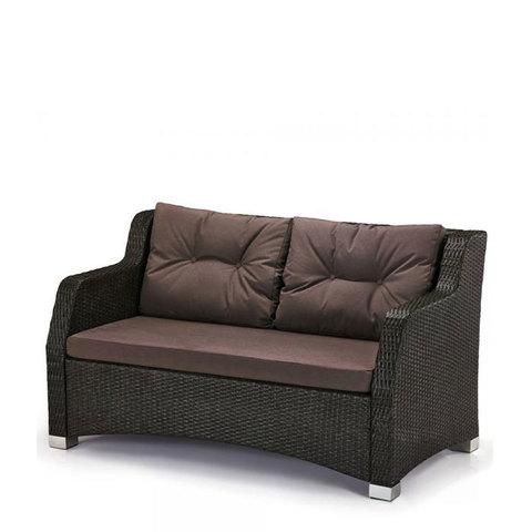 Плетеный диван S51A-W53 Brown