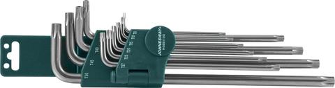H08S110S Набор ключей торцевых TORX® удлиненных с центрированным штифтом Т9-50, 10 предметов