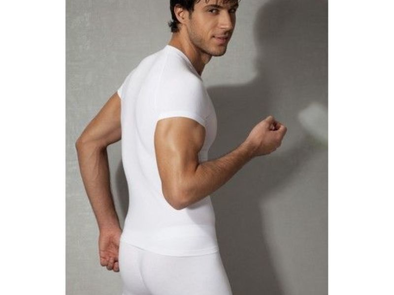 Мужская футболка белая Doreanse 2535
