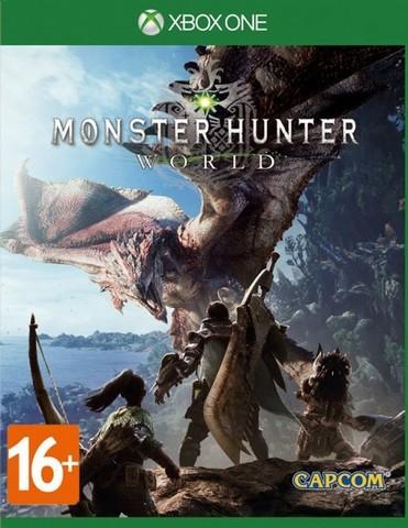 Xbox One Monster Hunter: World (русские субтитры)