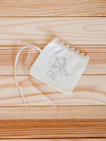 Крестильный мешочек (кремовый)
