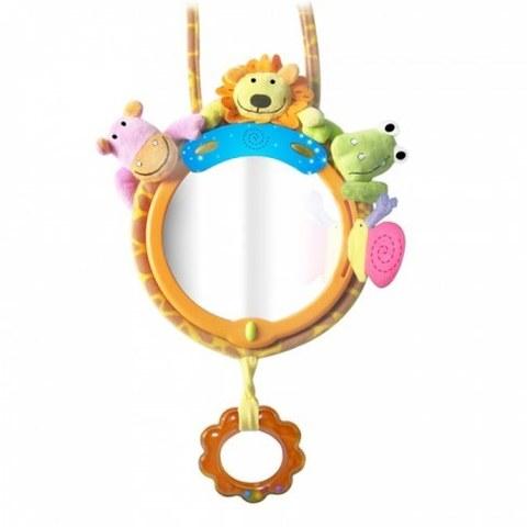 Игрушка-подвеска Biba Toys с зеркалом МОИ ДРУЗЬЯ ИЗ ДЖУНГЛЕЙ JF041