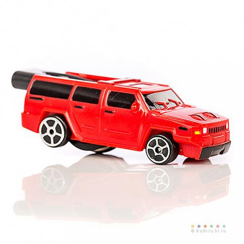 Машинка с двигателем-свистком