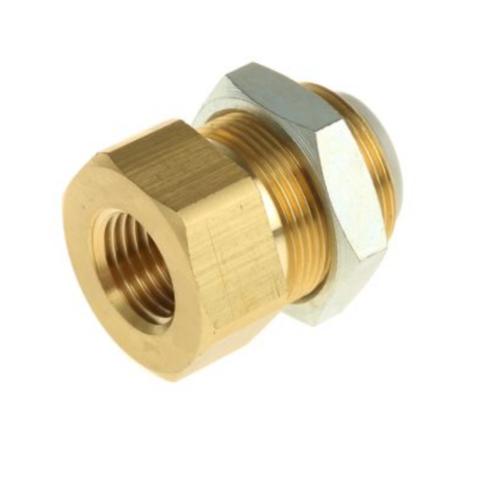 KQ2E06-02A  Соединение для панельного монтажа