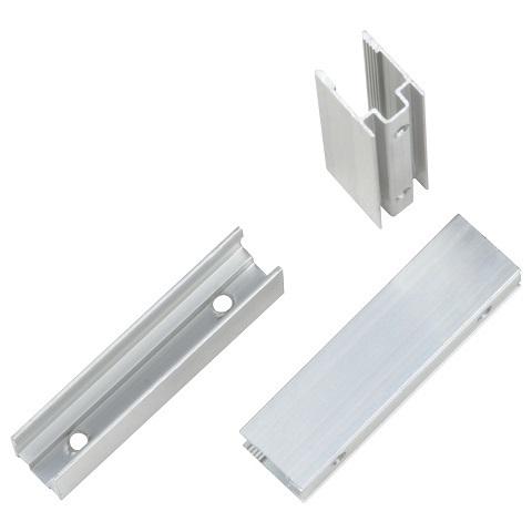 Алюминиевый мини профиль для монтажа гибкого неона 8х16 мм.