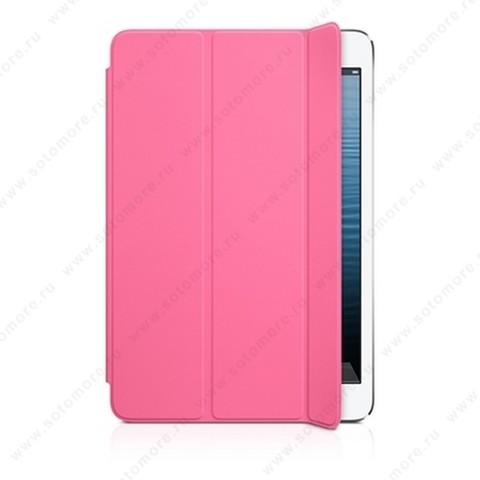 Чехол-обложка полиуретановая Apple Smart Cover для Apple iPad Mini 3/ 2/ 1 MD968 - Розовый ORIGINAL