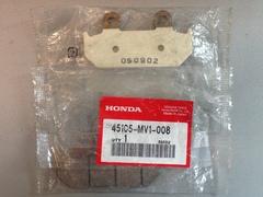 Тормозные колодки HONDA 45105-MV1-008 45105MV1008