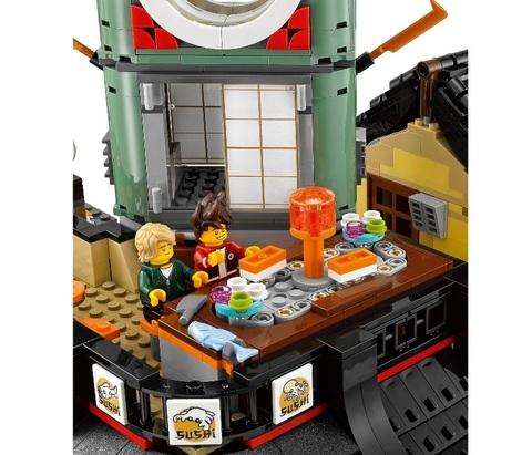 LEGO Ninjago Movie: Ниндзяго Сити 70620 — Ninjago City — Лего Ниндзяго фильм
