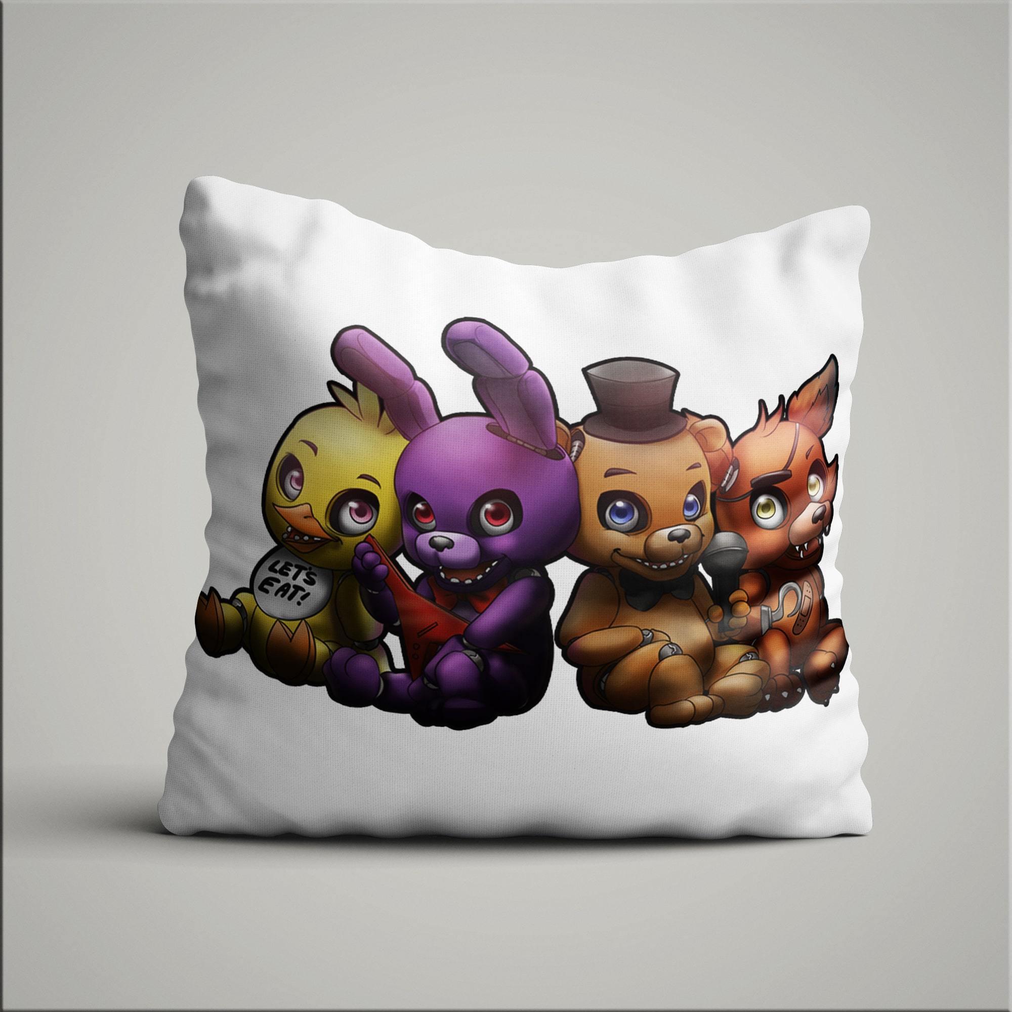 Подушка с героями ФНАФ №3 - купить в интернет-магазине kinoshop24.ru