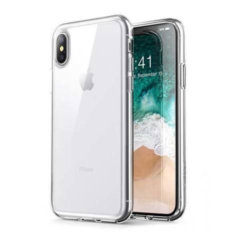 Чехол для iPhone X / XS - Прозрачный Силиконовый