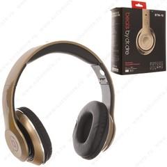 Наушники беспроводные STN-16 Bluetooth wireless золото