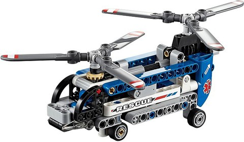 LEGO Technic: Двухроторный вертолёт 42020 — Twin Rotor Helicopter — Лего Техник