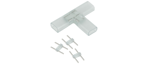 Т-образный переходник для светодиодной ленты 220V 5050 (10 шт.) a035329