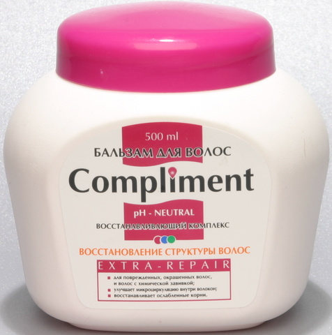 Compliment Бальзам для волос EXTRA-REPAIR восстановление структуры волос