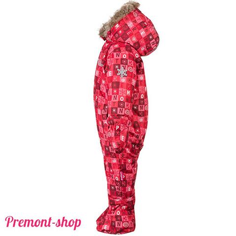 Комбинезон Premont для девочки Красные льдинки