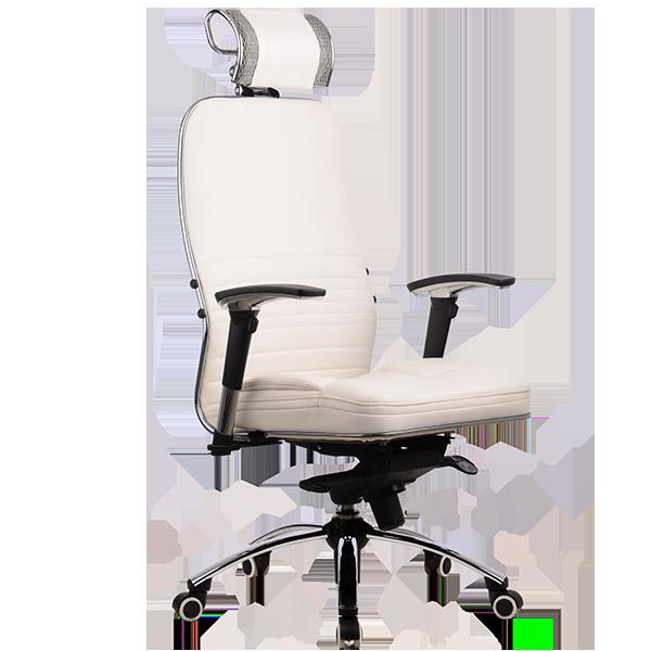 Кресло Samurai-kl-3-beliy